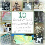 10 home made gift ideas collage