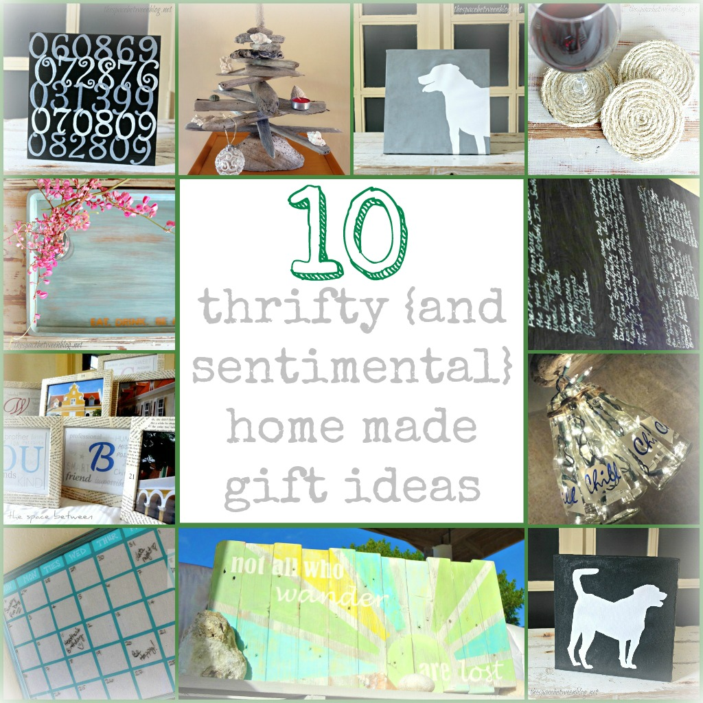 10 home made gift ideas for Diy sentimental gifts