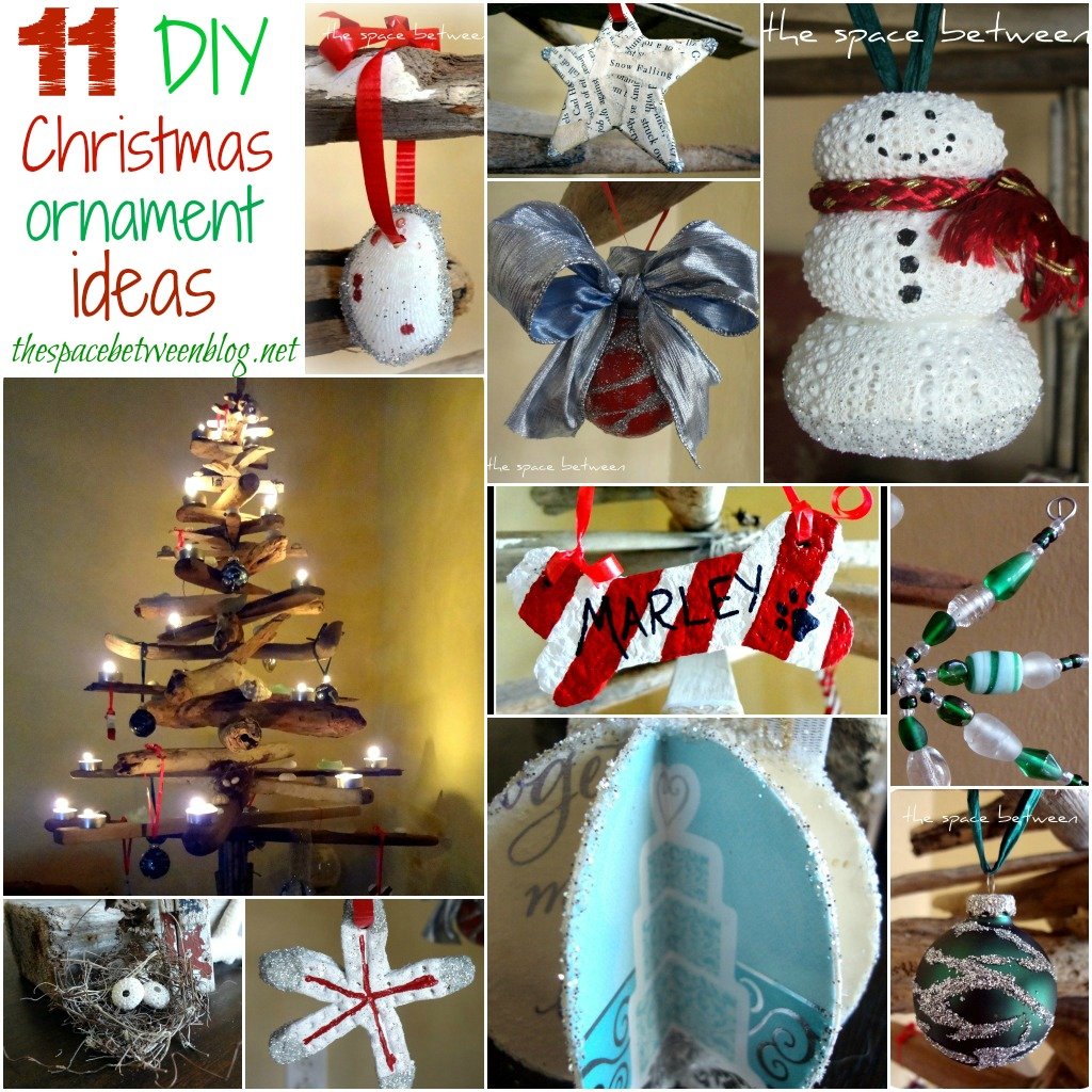 11 homemade Christmas ornament ideas - the space between