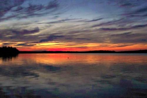 12May chesuncook sunset