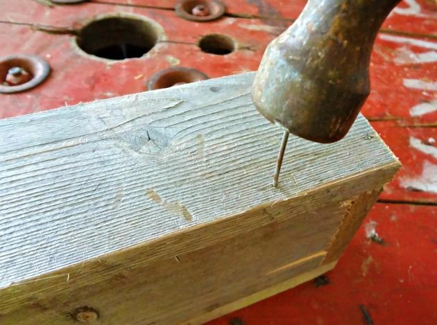 12May hammer nail trough