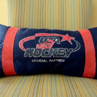 11-11-11 hockey bag pillow