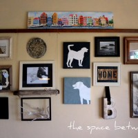 the one screw {gallery wall} is HERE!
