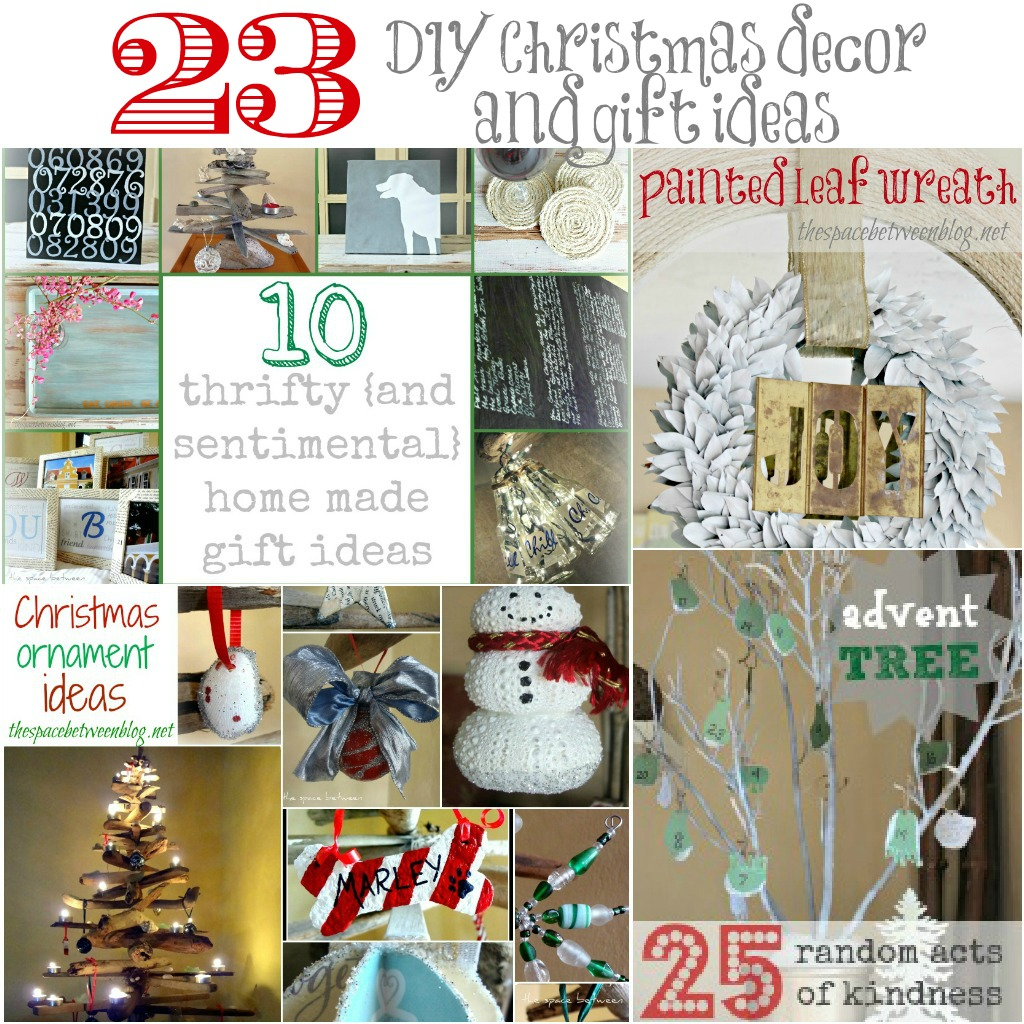 23 DIY Christmas decor and gift ideas