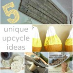5 unique upcycle ideas