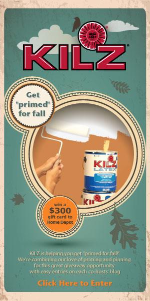 KILZ $300 Home Depot Gift Card Giveaway