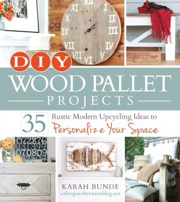 DIY Wood Pallet Projects Book Cover