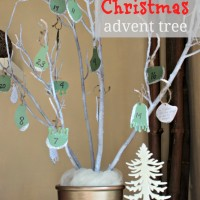 countdown to Christmas {random acts of kindness advent tree}