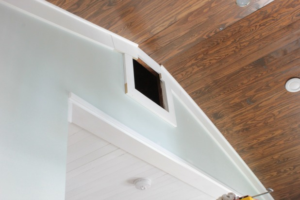 attic access door opening