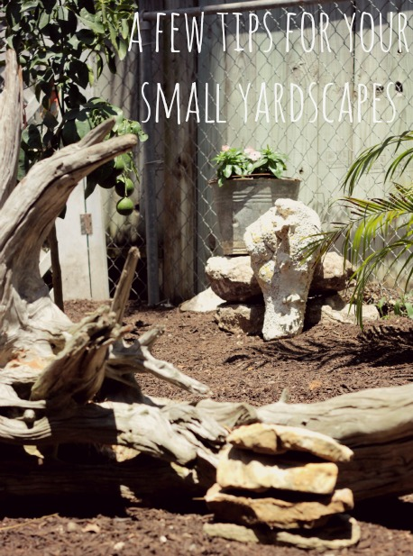 yardscape ideas for small spaces