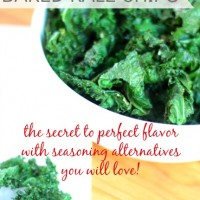 the secret to perfectly baked kale chips