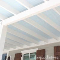 why beadboard on the ceiling is nothing at all like dancing on the ceiling