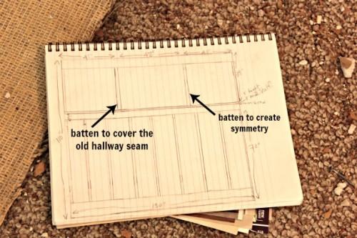 board and batten sketch