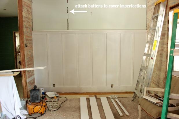 installing board and batten
