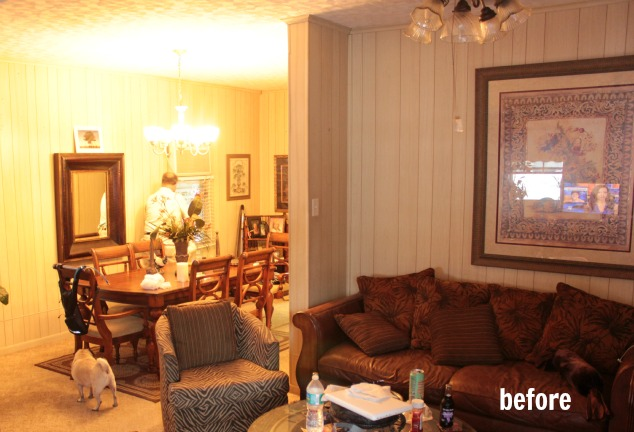 How To Install Board And Batten And What S Next For The Living Room