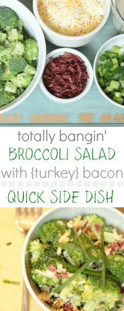 the absolute best broccoli salad recipe