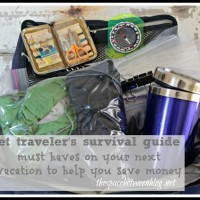 the budget traveler's survival kit
