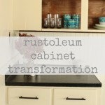 kitchen cabinetry makeover: rustoleum cabinet transformation
