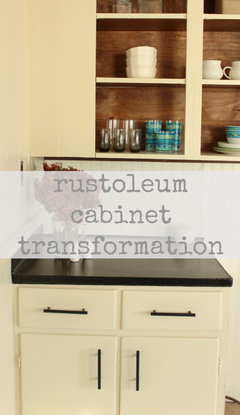 Kitchen Cabinetry Makeover Rustoleum Cabinet Transformation