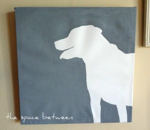 easy canvas silhouette art