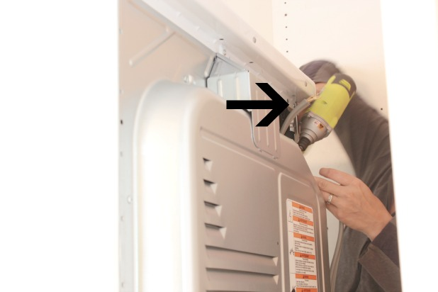 changing a dryer cord