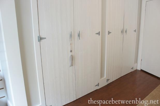 closet door updates