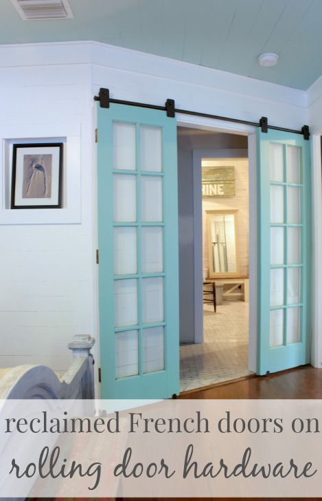upcycling idea reclaimed french doors