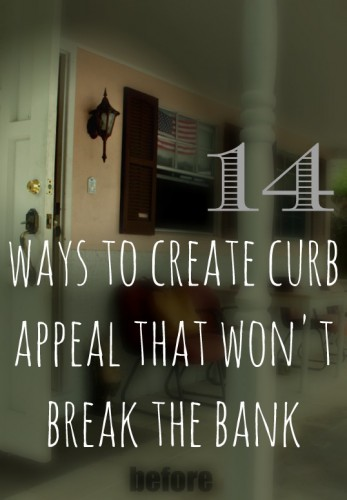 14 curb appeal ideas that won't break the bank