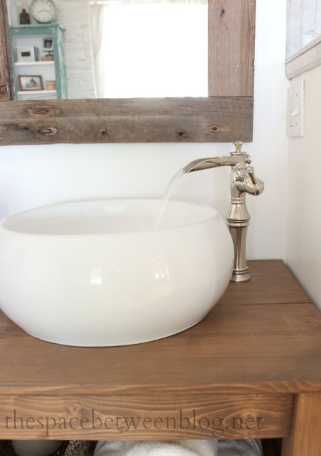 trough style vessel sink faucets