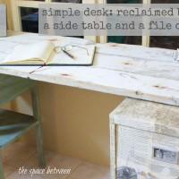 old wood {new desk}
