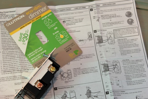 dimmer switch instructions