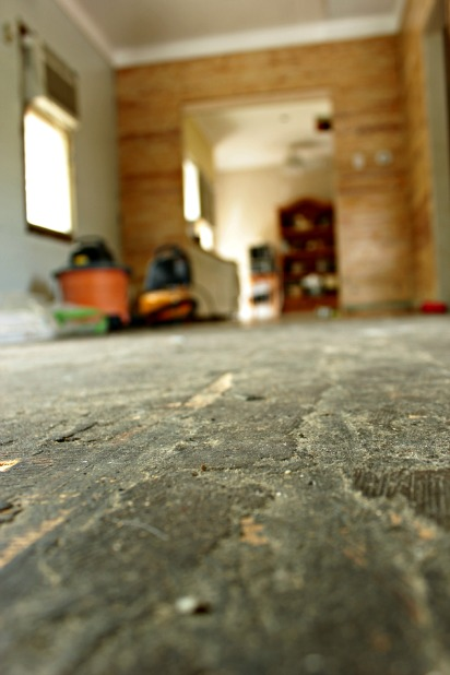 preparing for hardwood floor restoration