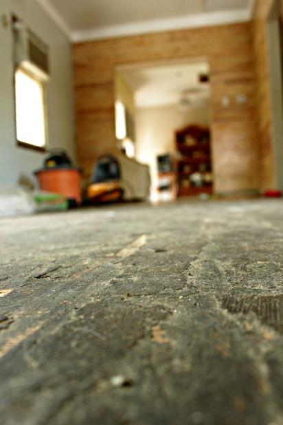 preparing for hardwood floor restoration