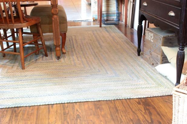 ll bean chenille braided rug