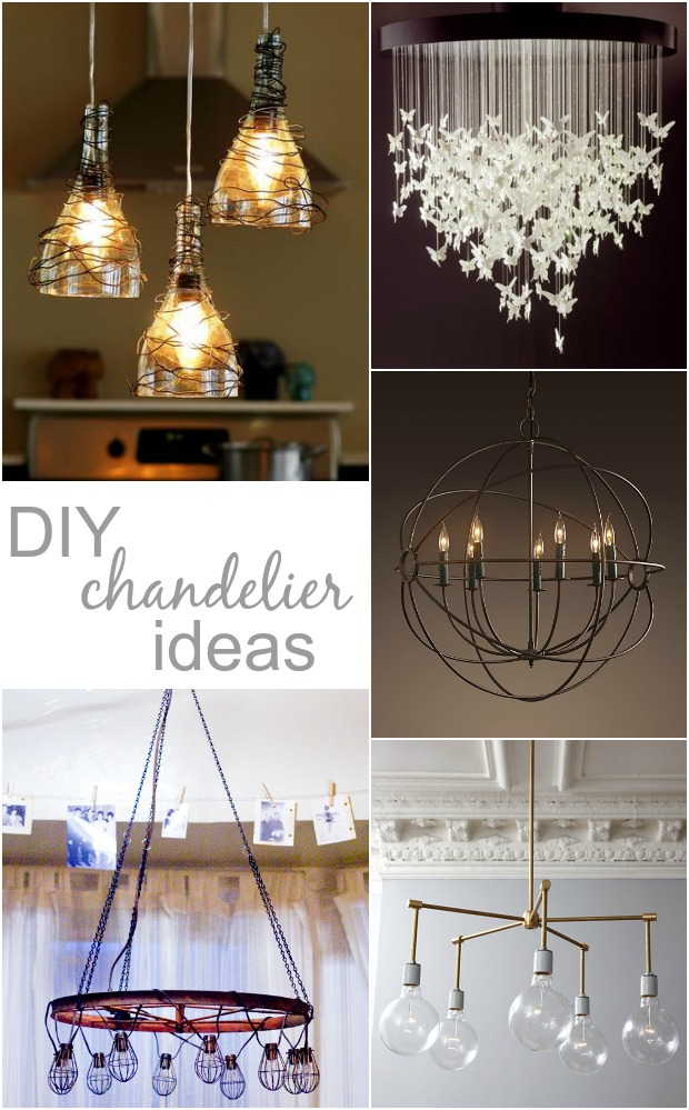 looking for diy chandelier ideas that won't block an amazing view