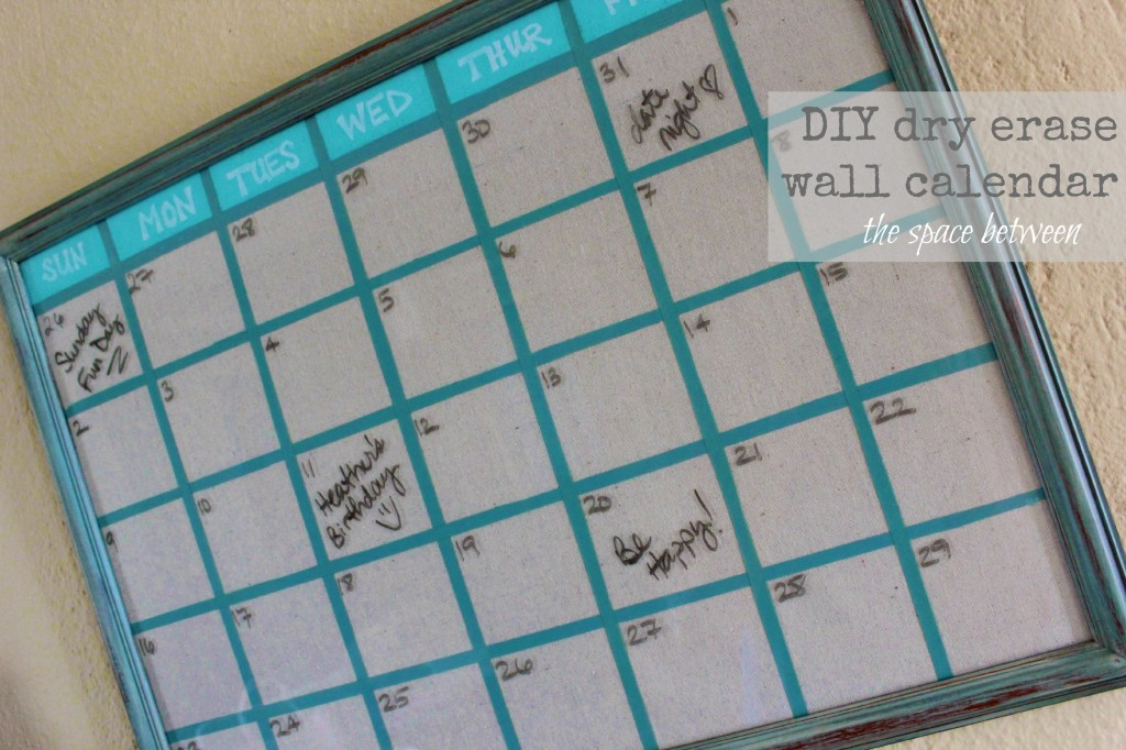 November Calendar Diy : Home made gift ideas