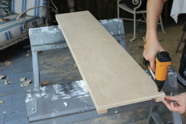Beautiful diy wood frame bed footboard assembly