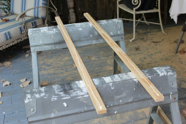 diy wood frame bed footboard assembly