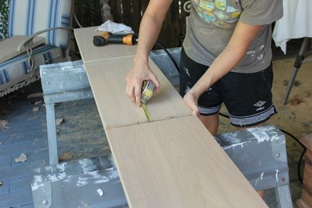 diy wood frame siderail assembly