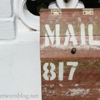 diy wooden mailbox {and why we needed a new mailbox ASAP}