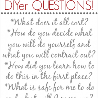 your DIY questions answered