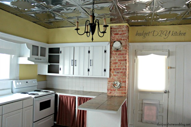 Do it yourself kitchen on a budget for Diy kitchen ideas on a budget