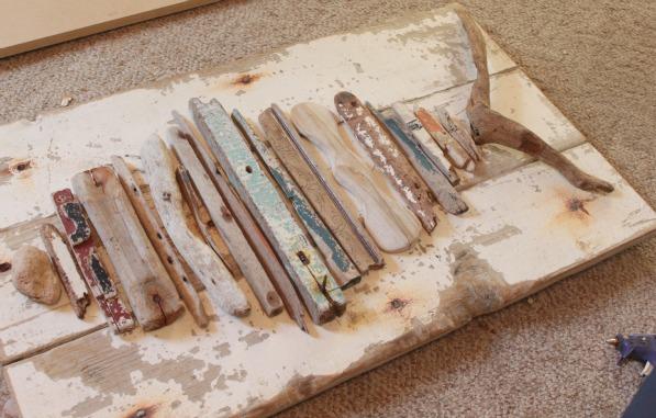 Easy Craft Idea Driftwood Fish