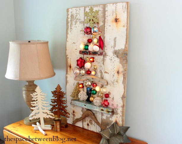 Upcycling idea christmas tree craft for Driftwood crafts to make