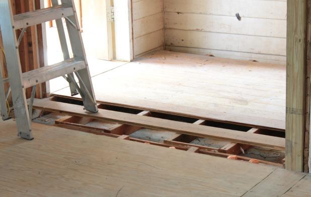 installing new hardwood floor