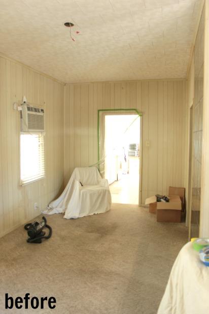 kitchen doorway before