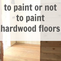 and this room is called … {painted wood floors?}