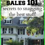 flea market and estate sale tips