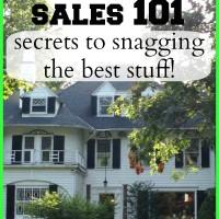 Day #28 – flea market and estate sale tips