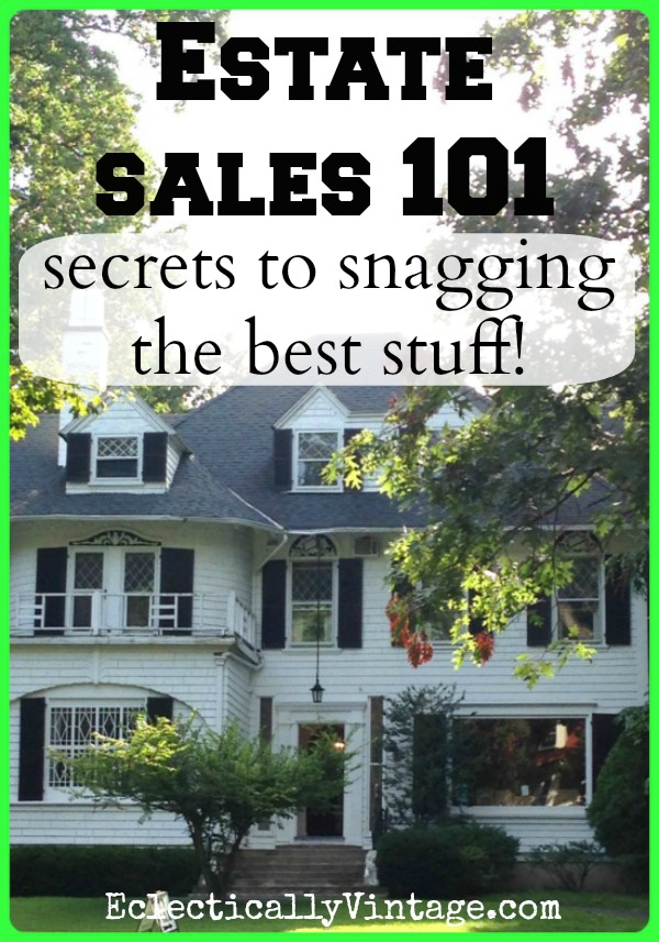 flea market and estate sale tips